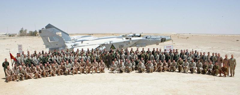 Marine Attack Squadron 311, Last Harriers in Iraq October 2008